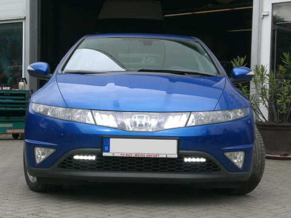 Led tagfahrlicht 17 on honda civic ford